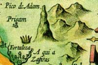 early map of Adam's Peak